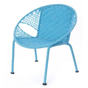Baby Blue Petite Peekaboo Chair