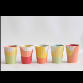 """POURed"" Handmade Coffee/Tea Cup - MEDIUM"