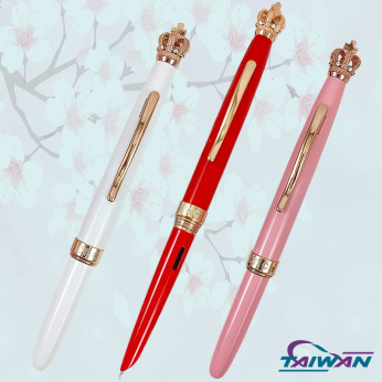 The Connect Modern & Ancient Crown Fountain Pen