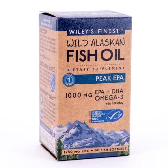 Wiley's Finest Wild Alaskan Fish Oil Peak EPA
