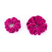 Velvet Scrunchies set | Tokyo Pink
