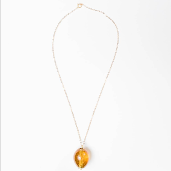 Glass Egg Necklace