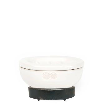 Cerámica Blanca Soap Dish