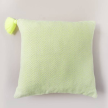 Handwoven Neon Arrow Pillow