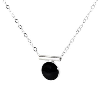 Onyx Bar Necklace
