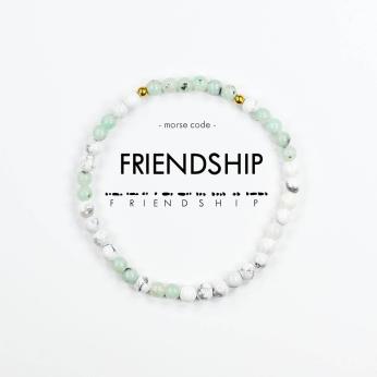 Morse Code Bracelet // Friendship
