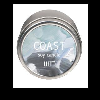 4 oz. Soy Candle in tin - Coast