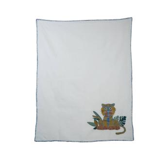 Little tiger infant quilt