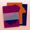 Set of Three Hiver Ginkgo Notebooks, 48 Pages Each