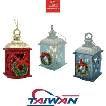 X'mas Christmas Ornament / X'mas Tree Decoration Candle Holder/ Wreath