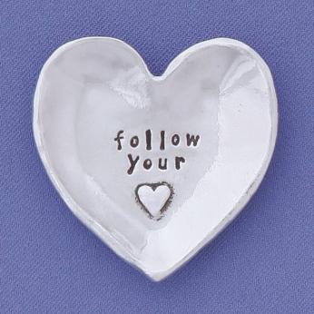 Follow Your Heart Charm Bowl