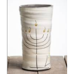 """Menorah"" Round Vase"