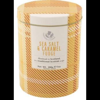 Gardiners Sea Salt and Caramel Fudge (Tartan Tin)