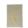 Mimosa Linen Guest Towel Natural