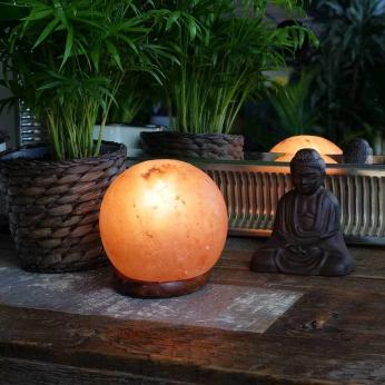 Himalayan Salt Feng Shui Lamp