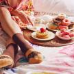 Doughnut Socks - Fudge Sprinkles