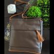 CHERRY / JPOURSE Leather Handbag