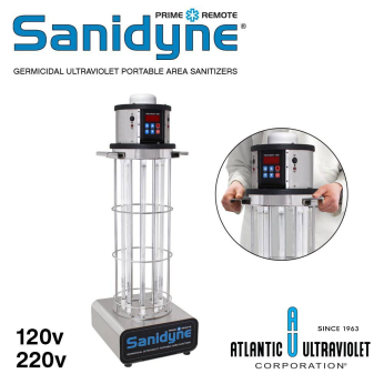 Sanidyne(R) Germicidal Ultraviolet (UV-C) Portable Air and Surface Sanitizers