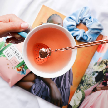 Rose Gold Tea Infuser
