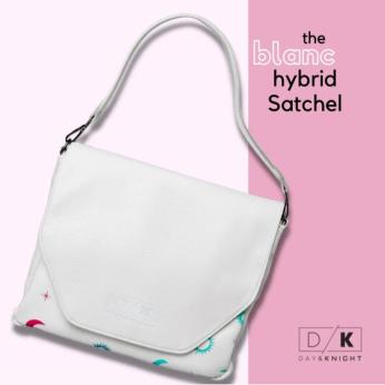 Blanc Hybrid Satchel