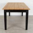 Provence Table, Natural/Black