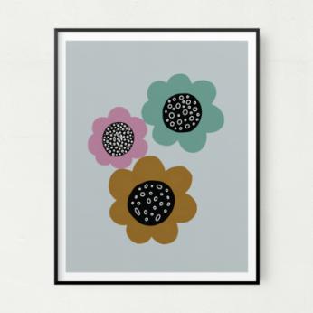 Bloom Unframed Art Print
