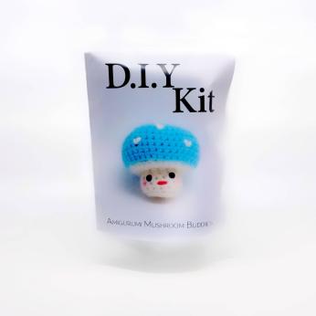 DIY Kit - Mushroom Bubbies (blue)