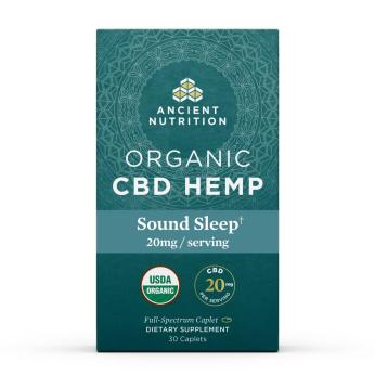 Organic CBD Hemp Sound Sleep Caplets – 20mg
