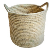 Natural handwoven Basketry with lid