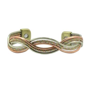 Serpentine Twist Magnetic Bangle