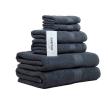 Chortex® Hampton™ 6 Piece Guest Towel Set, Storm Gray