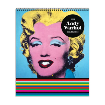 Andy Warhol 2022 Tiered Wall Calendar
