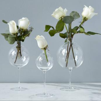 Wine Glass Vases, Small