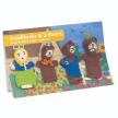Goldilocks & the Three Bears Finger Puppet Story Pack