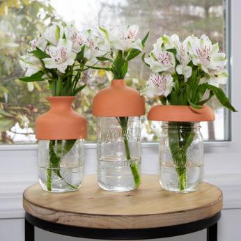 Terracotta Vase Tops
