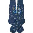 Let It Snow (Somewhere Else) / Men's Socks