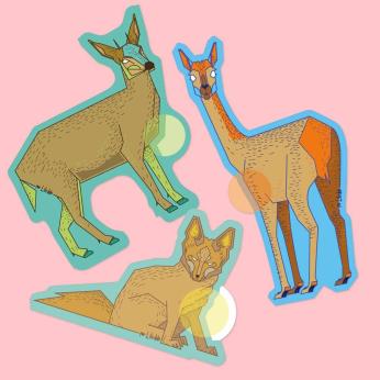 Chilean Fauna Stickers Pack