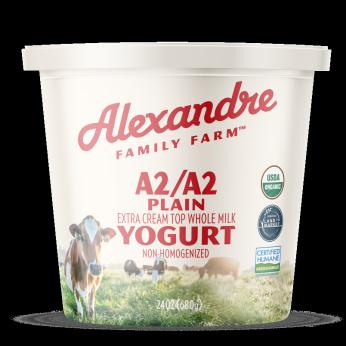 Alexandre Family Farm A2/A2 Organic Plain Yogurt