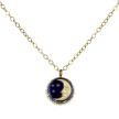 Celestial Vintage Charm Moon Necklace