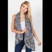 Leopard design vest
