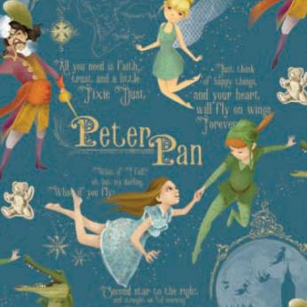 Peter Pan Wrapping Paper by KARTOS