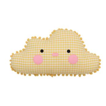 BIG SIZE   Papa Cloud Cushion   YELLOW