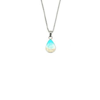Shoreline Teardrop Necklace