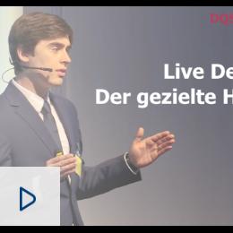 Live-Demonstration: Der gezielte Hackerangriff