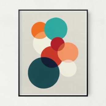 Blended Unframed Art Print