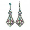 Kaia Pastel Filigree Statement Earrings
