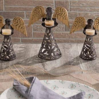 Angel Tealight Stands