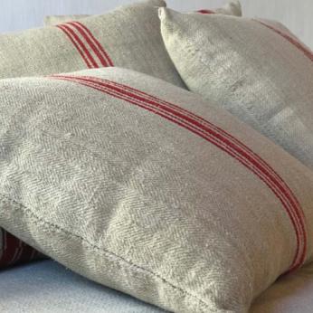 Vintage Hemp Pillows