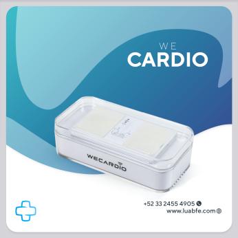 We Cardio. Wireless ECG recorder