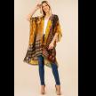 Multi design kimono